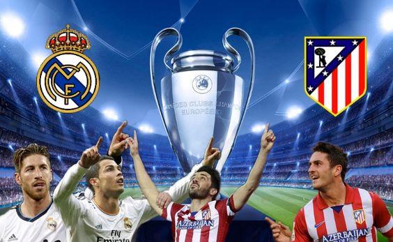 Real Madrid y Atlético de Madrid en la final de Champions League