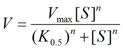 The hill equation.