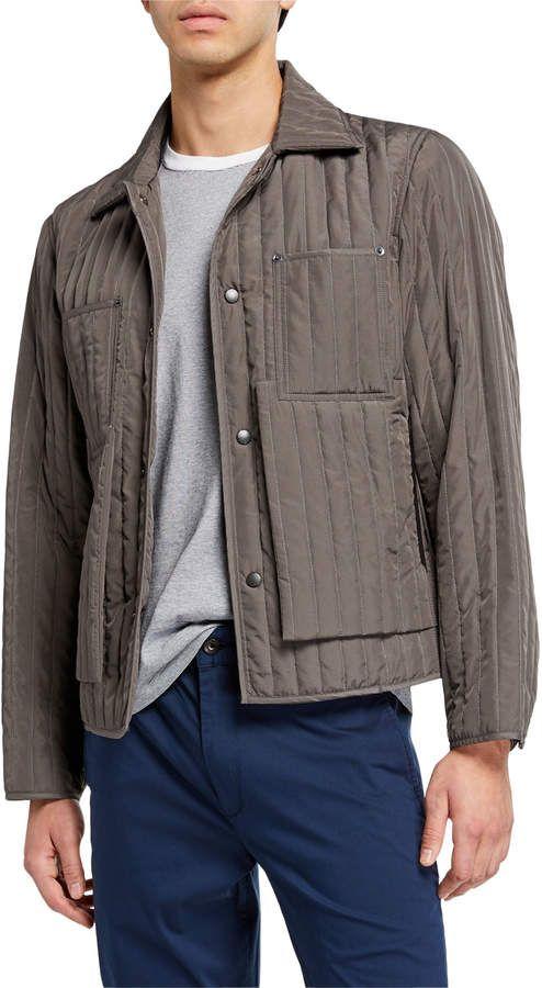Craig Green Men S Quilted Worker Jacket Quilted Jacket Men Craig Green Man Quilt
