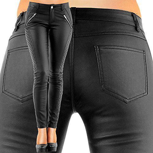 DANAEST Damen Kunstlederhose Bootcut (163), Skinny Style, Größe: 36 S, Farbe: Schwarz Danaest http://www.amazon.de/dp/B00KCW54BG/ref=cm_sw_r_pi_dp_yztMvb0Y18S4C