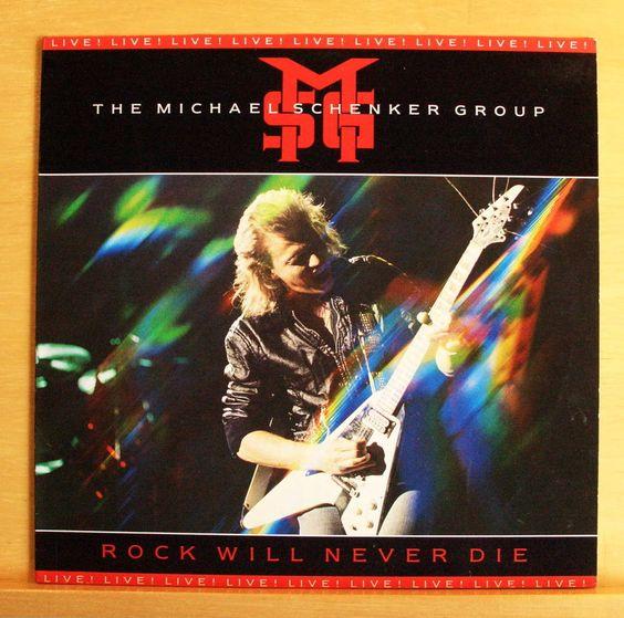 MSG MICHAEL SCHENKER GROUP Rock will never die - Vinyl LP Doctor Doctor Top RARE