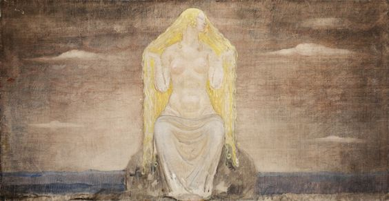 Freyja, por John Bauer