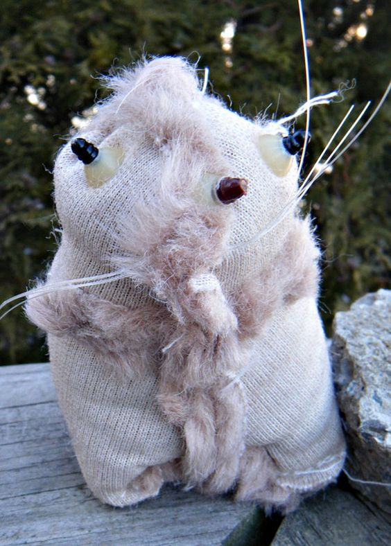 Ugly Naked Mole Rat OUTSIDER Zombie Inside out by cherrycircus
