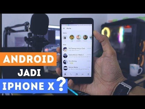 Cara Mengubah Whatsapp Android Jadi Iphone X Versi Terbaru 2019 Download Whatsapp Tema Iphone Untuk Android Cara Install Fm Whatsap Iphone Aplikasi Android
