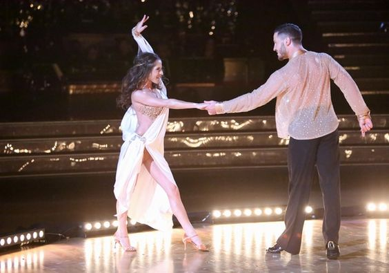 Dancing With The Stars: All-Stars Week 9 Kelly and Val