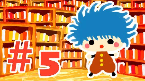 owabird Illustration Blog: アニメ投稿しました【#5トンネルの向こうは図書館でした】
