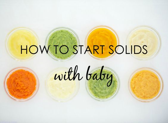 How to Start Solids With Baby - {Great tutorial from @Sage Corson Spoonfuls} #baby #babyfood