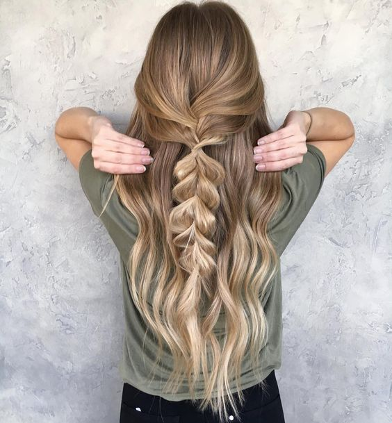 "622 Likes, 10 Comments - BRITTANY GONZALEZ (@hairbybrittanyy) on Instagram: ""Simple braids are still cute right Color by the amazing @beckym_hair #braids #braidinspo…"""