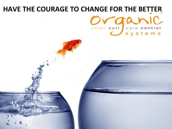 Do you have the courage to change for the better?  Organic Salon Systems has been changing salons for the better for the last 10 years by providing natural, organic, and ethical professional salon products to beauty professionals.  Change you salon for the better by starting to use our products and you'll realize the professional and personal growth that you've been missing from your professional beauty career.