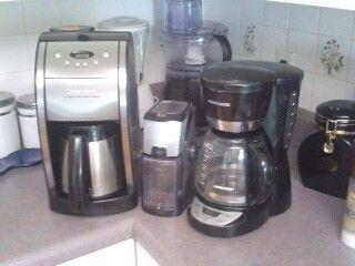 My personal coffee corner...