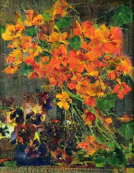 Pansies on pinterest for Nicolai fechin paintings for sale