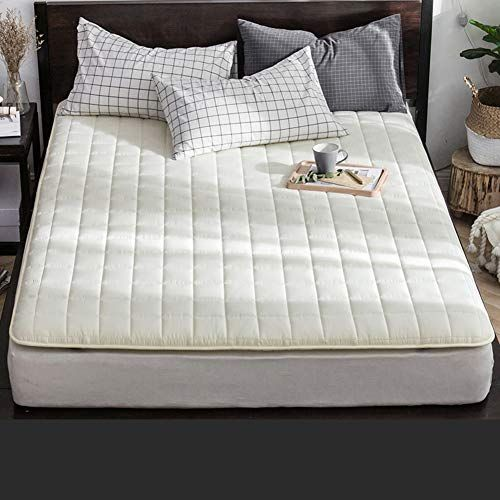 Thick Mattress Topper Foldable 8cm 100 Mattress Pads Breathable Soft Single Double Washable Tatami Floor Mat Be Thick Mattress Topper Mattress Hotel Mattress