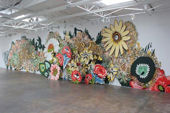 LINDA RIDGWAY + NATASHA BOWDOIN at Talley Dunn Gallery through May 14th