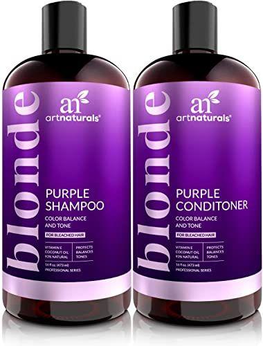 Enjoy Exclusive For Artnaturals Purple Shampoo Conditioner Set