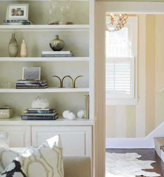 "Ella Scott Design | Bethesda, MD #Modern Cottage"" #builtin #bookshelves #foyer #renovation #bethesdamd"