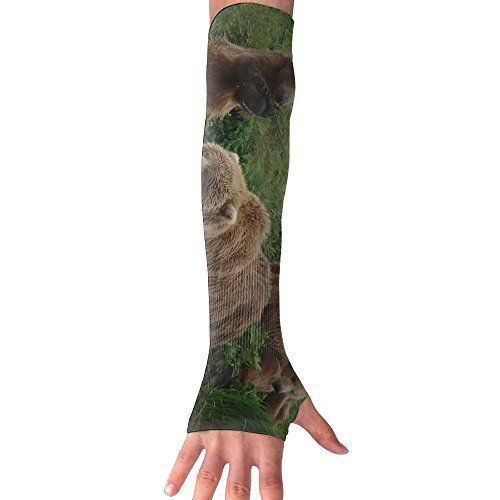 Subensm Tbears Sun Sleeves Uv Protection Cooling Arm Sleeves For