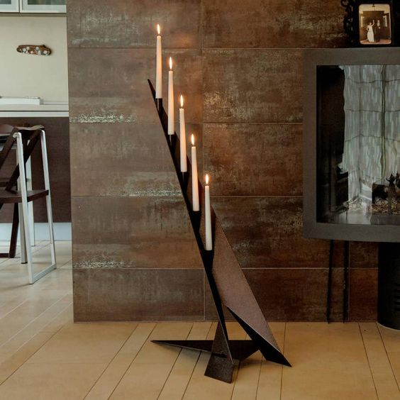 Tall Candle Holders for Fireplace Fireplace Pinterest Candle