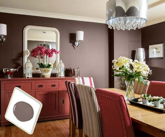 Best colors for dining room drama pinterest pink for Warm neutral paint colors for dining room