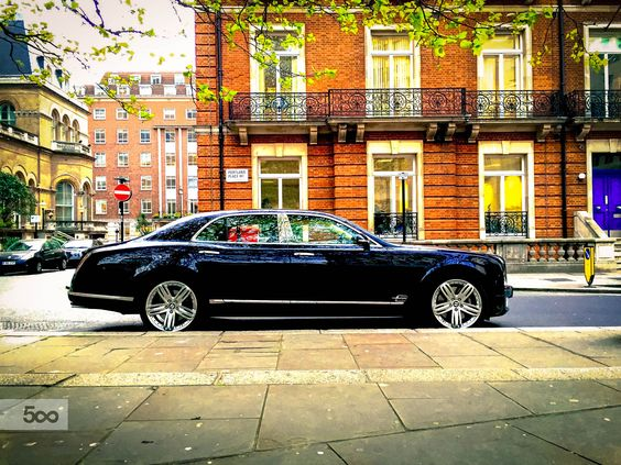 Bentley In London by Jonathan Petrino on 500px