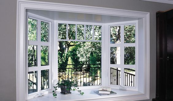 Big kitchen garden window for the home pinterest for Decoration fenetre bow window