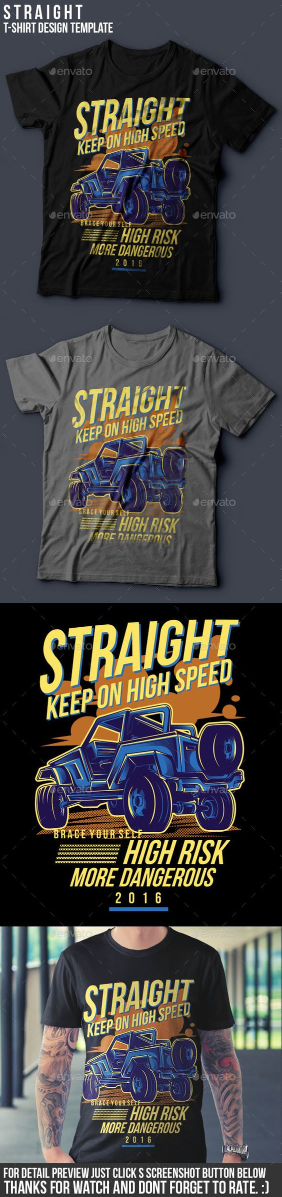 Shirt design eps - Buy Straight T Shirt Design By Badsyxn On Graphicriver Vector Resizable Easy To Edit And Change Color File Included Ai Eps Png And Read Me Txt High
