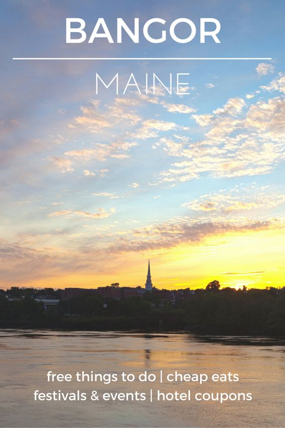 Visit Bangor on a Budget - Check out the destination guide to Bangor, Maine and other major U.S. cities by HotelCoupons.com