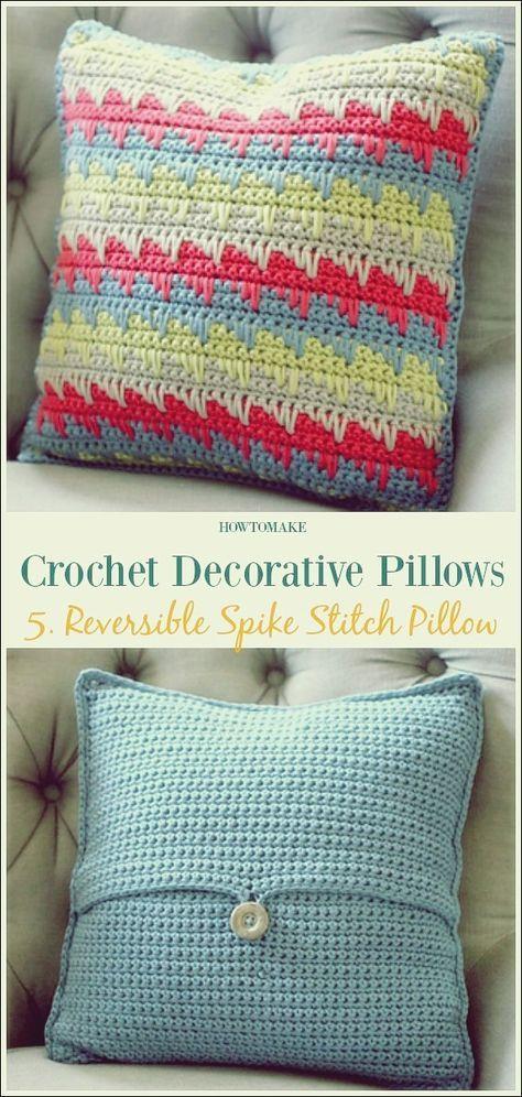 Häkeln Sie dekorative Kissen freie Muster, um Ihr Haus mit