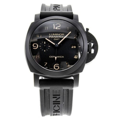 Powerful Panerai GMT3 Ceramic Watch Sale $10000 FREE EXPEDITED DELIVERY