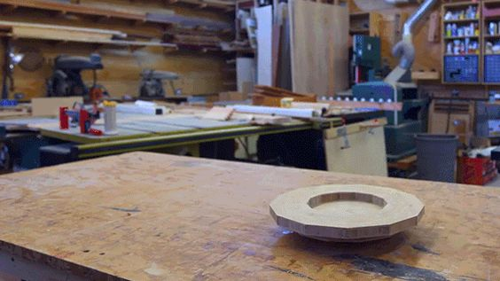 Even woodworkers celebrate Star Wars day. For Frank Howarth, the project was obvious: construct a wooden Death Star.