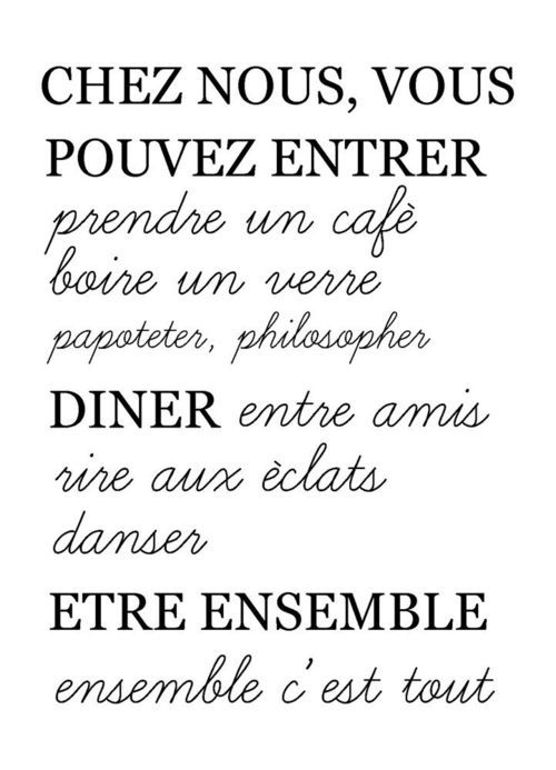 Citation maison citation ensemble citation pinterest for Origine du mot maison