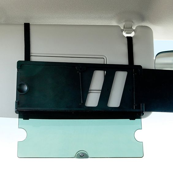 Car Sun Visor Extender – for the long, sunny road trips.: Sun Glare, Road Trips, Visor Extender, Extend A Visor Car, Long Sunny, Sun Visor