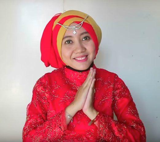 Tutorial Hijab Wisuda Kekinian Yang Nyaman Dipakai Kerudung Hijab Warna