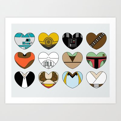 Image result for star wars hearts