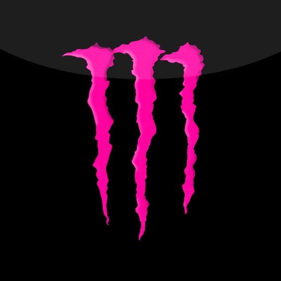 濃いピンク色のロゴ