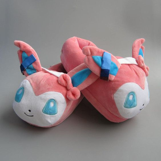 Pokemon Sylveon Plush Slippers: