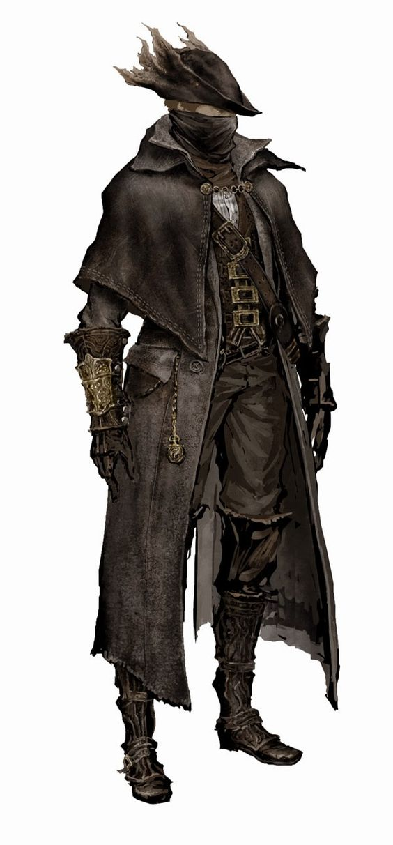 Awesome Robo!: The Art of Bloodborne | Characters: Rangers ...