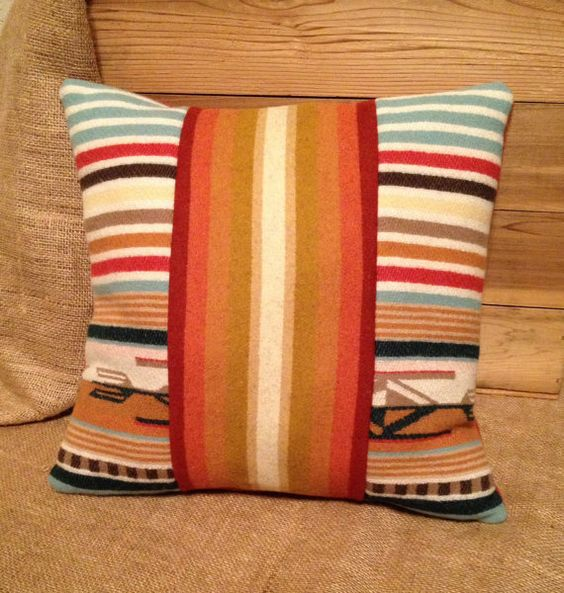 Native American Print Pillow by MimiHomeDesigns on Etsy