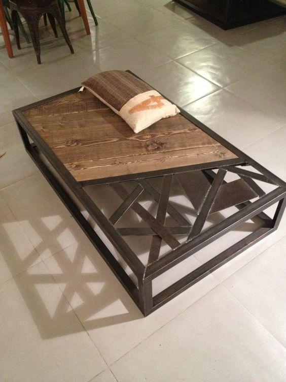 Tables basses mobilier industriel