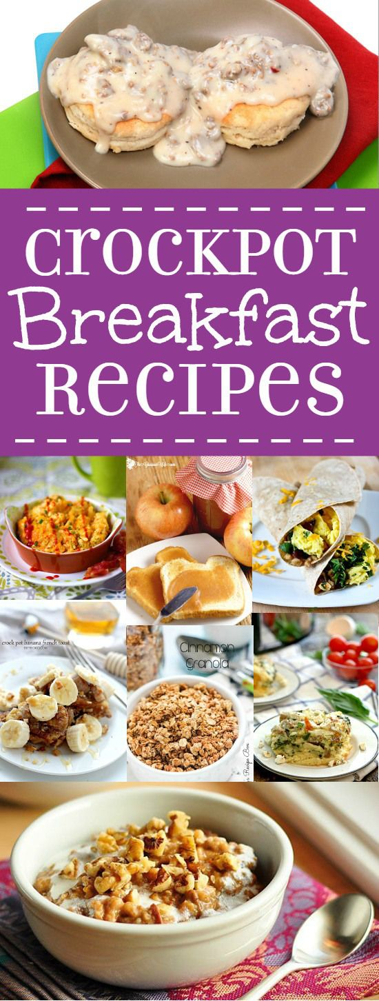 Pinterest the world s catalog of ideas for Slow cooker breakfast recipes for two