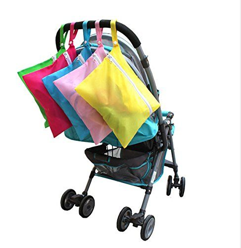 Amazon.com : Great Deal(TM) Baby Clothes Cleaning Storage Bag on Stroller Random Color (Pack of 1) : Baby
