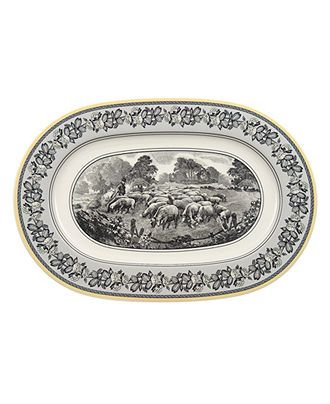 Villeroy & Boch Dinnerware, Audun Oval Platter - Casual Dinnerware - Dining & Entertaining - Macy's
