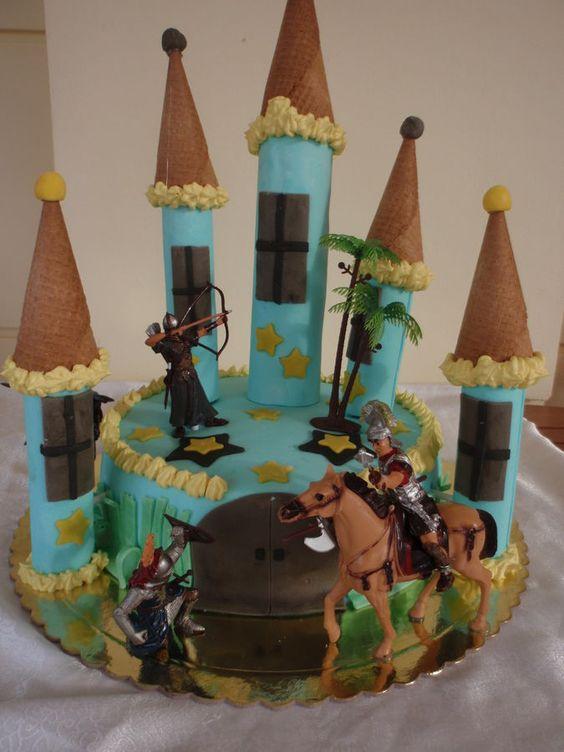 Birthday cake castle...