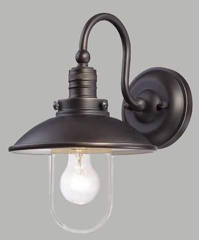 Wall Light Fitting Bracket : Industrial Style Wall Light - Port Wall Bracket verandah Pinterest Wall lighting ...