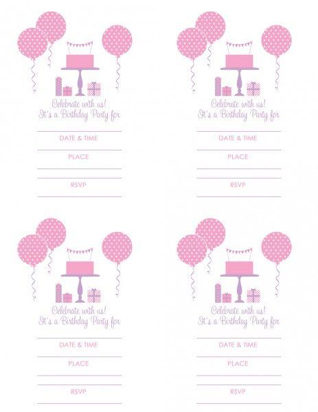 pink & purple printables