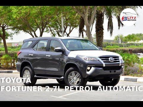 2020 Model Toyota Fortuner Sr5 2 7l Petrol Automatic Toyota Petrol Model