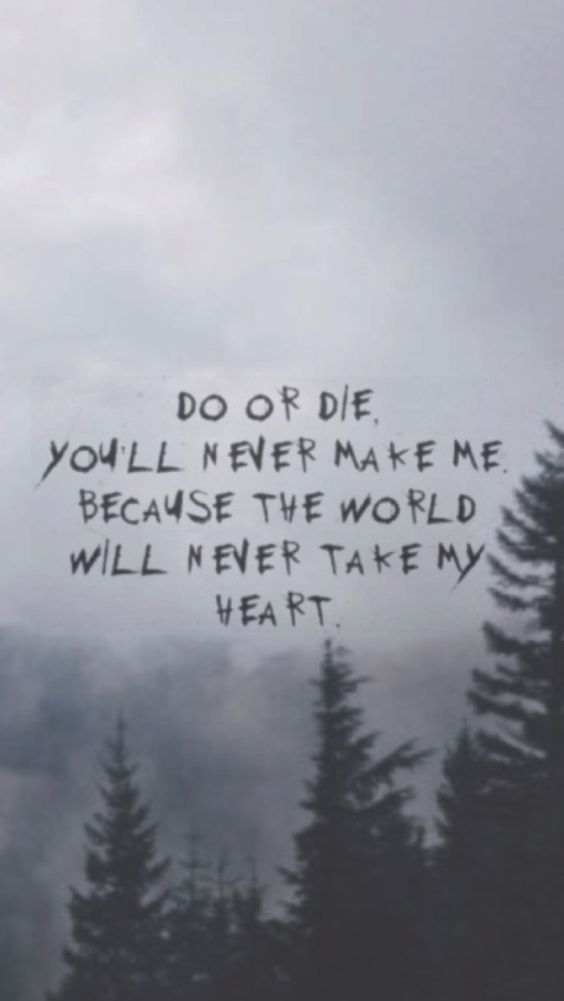 My Chemical Romance. Such a powerful band that speaks powerful words.