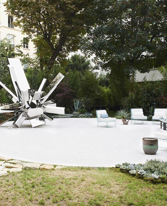 chahan minassian / le jardin en reflets, enclos des bernardins 5ème