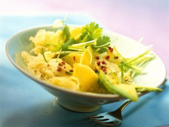 Fruchtiger Sauerkrautsalat ist ein Rezept mit frischen Zutaten aus der Kategorie Fruchtgemüse. Probieren Sie dieses und weitere Rezepte von EAT SMARTER!