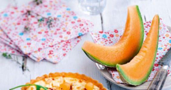 Tarte ricotta et billes de melon - Magazine Avantages