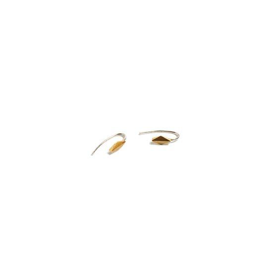 Imagen de Plume Rhombus Earrings